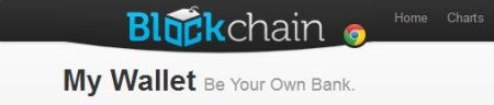 Blockchain Chrome Logo