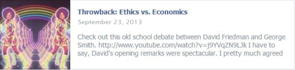 Throwback: Ethics vs. Economics