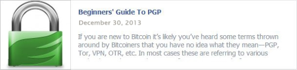 Beginner's Guide To PGP