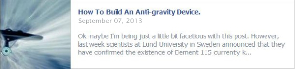 How To Build An Anti-gravity Device