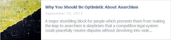 Why You Should Be Optimistic About Anarchism