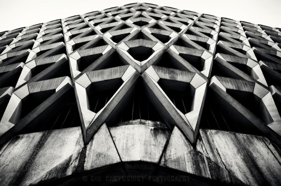 architecture-ncp-car-park-marylebone-lane-london-uk-modernist-contemporary-concrete-brutalist-brutalism-rob-cartwright-leading-lines-d700-wide-angle-bw-black-white-mono